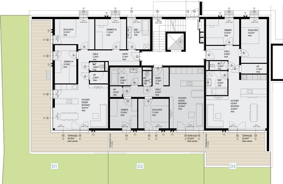 Grundrisse for Wohnhaus grundriss